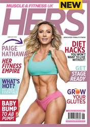 Muscle & Fitness Hers Magazine Cover
