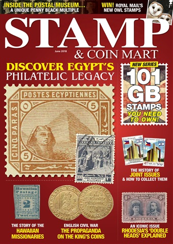 Stamp & Coin Mart issue June 2018
