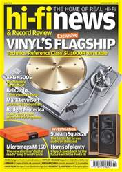 Hi-Fi News issue Jun-18