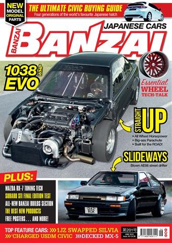 Banzai issue June 2018