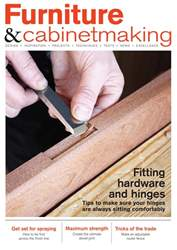 Furniture & Cabinetmaking issue June 2018