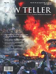 Lawteller – A Legal Awareness Magazine issue May 2018