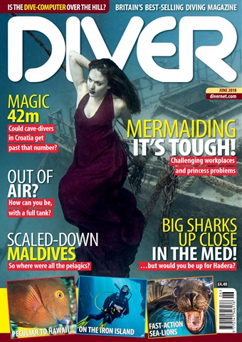 DIVER issue JUNE 2018