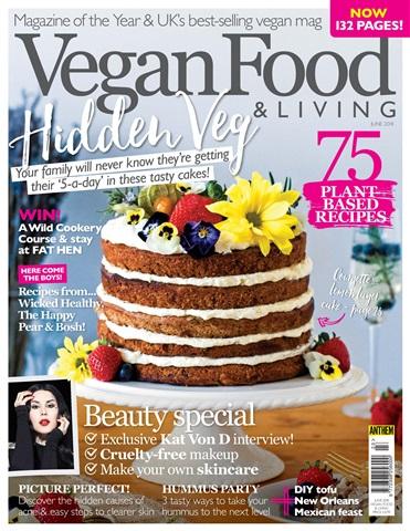 Vegan Food & Living Magazine issue Jun-18