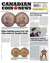 Canadian Coin News issue V56#04 - May 29
