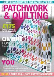 Patchwork and Quilting issue Jun-18