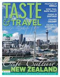 Taste & Travel International issue Spring 2018