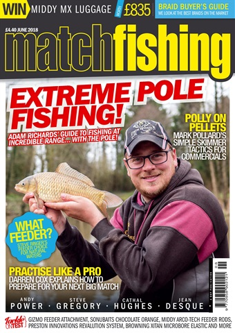 Match Fishing issue June 2018