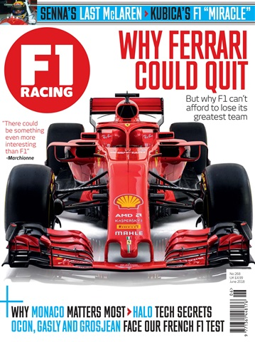 F1 Racing issue June 2018