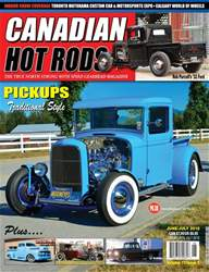 Canadian Hot Rods issue CHR june/july 2018