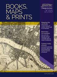 Books Maps & Prints Supplement 2018 issue Books Maps & Prints Supplement 2018