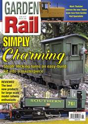 Garden Rail issue June 2018