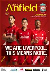 Liverpool FC Programmes issue vs Brighton & Hove Albion 17/ 18