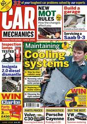 Car Mechanics issue June 2018