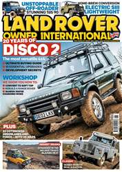 Land Rover Owner issue June 2018
