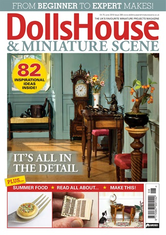 Dolls House and Miniature Scene issue June 2018 (289)