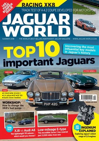 Jaguar World issue Summer 2018