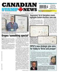 Canadian Stamp News issue V43#03 - May 29