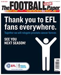 The Football League Paper issue 13th May 2018