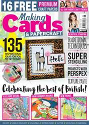 Making Cards & Paper Craft issue June 2018