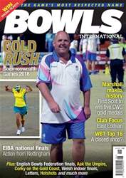 Bowls International issue   June 2018