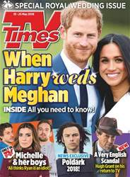 TV Times issue 19th May 2018