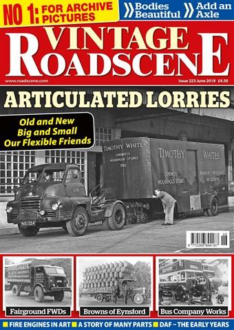 Vintage Roadscene issue June 2018