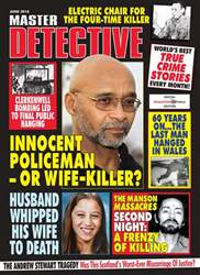 Master Detective issue Master Detective June 2018