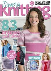 Simply Knitting issue Issue 173