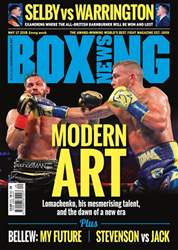 Boxing News issue 15/05/2018