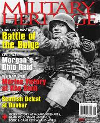 Military Heritage Magazine Cover