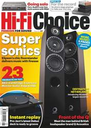Hi-Fi Choice Magazine Cover