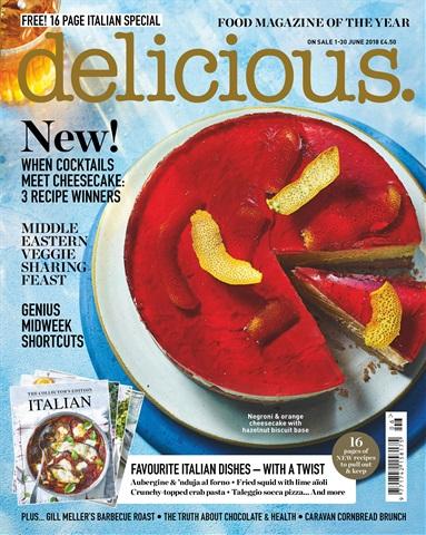 Delicious Magazine issue June 2018