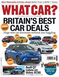 What Car Magazine issue June 2018