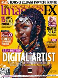 ImagineFX issue July 2018