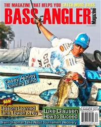 BASS ANGLER MAGAZINE issue Summer 2018