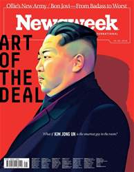 Newsweek International issue 25th May 2018