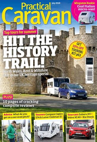 Practical Caravan issue July 2018