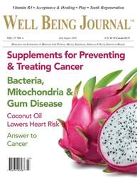 Well Being Journal issue Jul/Aug 2018