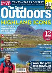 TGO - The Great Outdoors Magazine issue June 2018