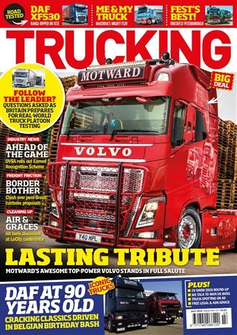 Trucking Magazine issue July 2018