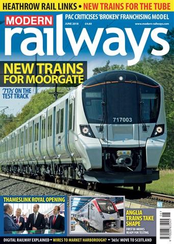 Modern Railways issue June 2018