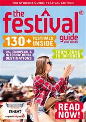 The Festival Guide issue The Festival Guide 2018