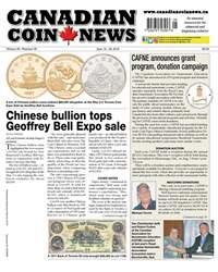 Canadian Coin News issue V56#05 - June 12