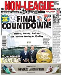 The Non-League Football Paper issue 20th May 2018