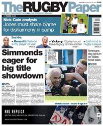 The Rugby Paper issue 20th May 2018