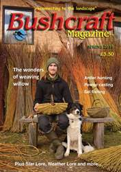 Bushcraft Magazine issue Spring 2018