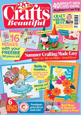 Crafts Beautiful issue Jul-18