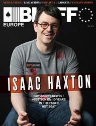 Bluff Europe Magazine Cover