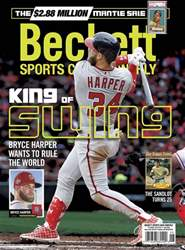 Sports Card Monthly issue June 2018